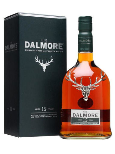 Slika Dalmore 15 YO Highland Single Malt Scotch Whisky 40% Vol. 0,7 l + GB