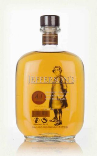 Slika Jefferson's Kentucky Straight Bourbon Whiskey Very Small Batch 41,2% Vol. 0,7 l