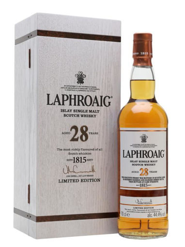 Slika Laphroaig 28 Years Old Liwithed Edition 44,4% Vol. 0,7l in Wooden case