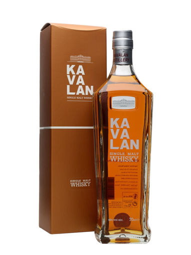 Slika Kavalan Single Malt Whisky 40% Vol. 0,7 l + GB