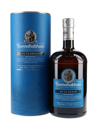 Slika Bunnahabhain AN CLADACH Islay Single Malt Scotch Whisky 50% Vol. 1l in Giftbox
