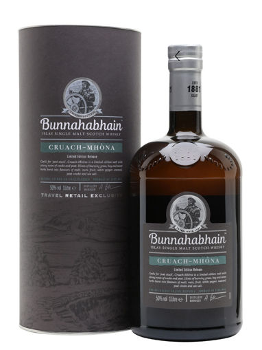 Slika Bunnahabhain CRUACH-MHÒNA Islay Single Malt Scotch Whisky 50% Vol. 1l in Giftbox
