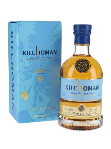 Slika Kilchoman 9 Years Old VINTAGE Limithed Edition 2010 48% Vol. 0,7l in Giftbox