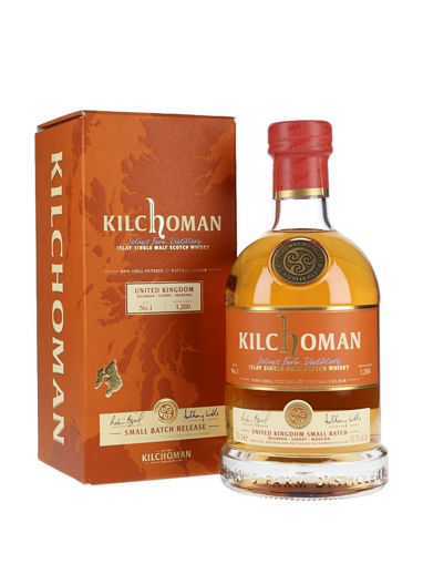 Slika Kilchoman Islay Single Malt Whisky SMALL BATCH 1 47% Vol. 0,7l in Giftbox