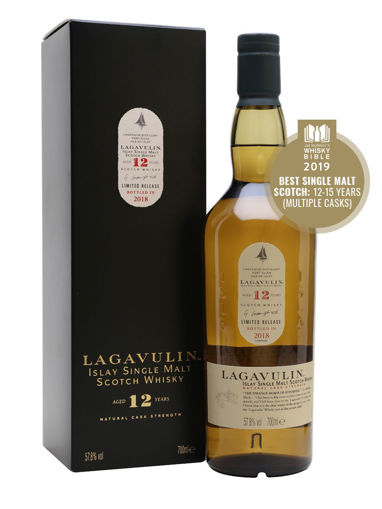 Slika Lagavulin 12 Years Old Cask Strength Limithed Edition 2018 57,8% 0,7 l + GB