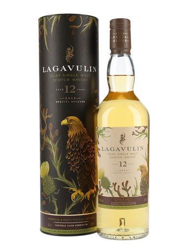 Slika Lagavulin 12 Years Old Cask Strength Special Release 2019 56,5% 0,7 l + GB