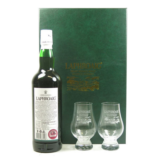 Slika Laphroaig 10 Years Old 40% Vol. 0,7l in Giftbox with 2 glasses