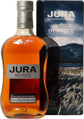 Slika Jura Peated DESTINY Single Malt Scotch Whisky 44% Vol. 0,7l in Giftbox