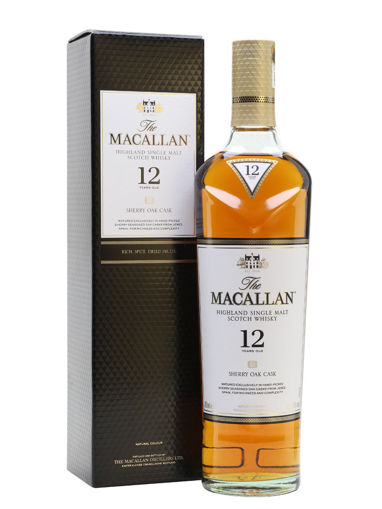 Slika The Macallan 12 Years Old SHERRY OAK CASK Highland Single Malt Scotch Whisky 40% Vol. 0,7l in Giftbox