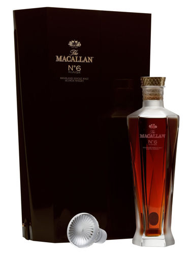 Slika The Macallan No. 6 in Lalique Decanter 43% Vol. 0,7l in Giftbox