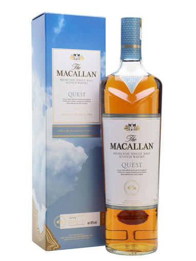 Slika The Macallan QUEST Highland Single Malt Scotch Whisky 40% Vol. 0,7l in Giftbox