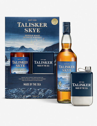 Slika Talisker 10 Years Old Single Malt Whisky 45,8% Vol. 0,7l in Giftbox with flask