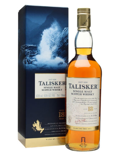 Slika Talisker 18 Years Old Single Malt Whisky 45,8% Vol. 0,7l in Giftbox