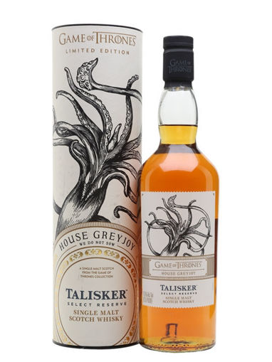 Slika Talisker Select Reserve GAME OF THRONES House Greyjoy Single Malt Collection 45,8% Vol. 0,7l in Giftbox