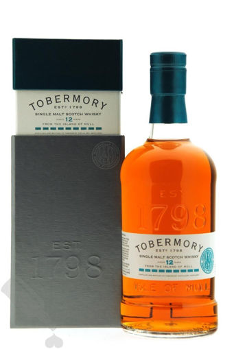 Slika Tobermory 12 Years Old Single Malt Scotch Whisky MANZANILLA FINISH 46,3% Vol. 0,7l in Giftbox