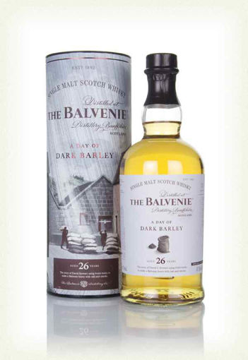 Slika The Balvenie 26 Years Old A Day of Dark Barley 47,8% Vol. 0,7l in Giftbox