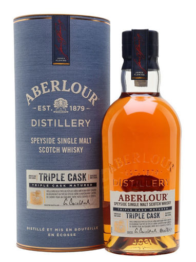 Slika Aberlour TRIPLE CASK Highland Single Malt Scotch Whisky 40% Vol. 0,7l in Giftbox