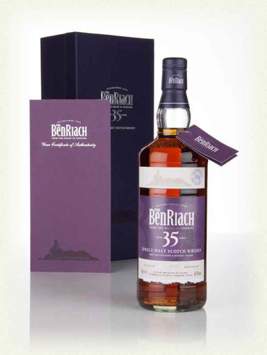 Slika The BenRiach 35 Years Old Single Malt Scotch Whisky 42,5% Vol. 0,7l in Giftbox
