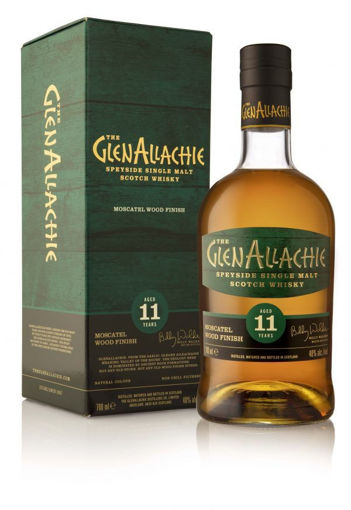 Slika The GlenAllachie 11 Years Old MOSCATEL WOOD FINISH Single Malt Scotch Whisky 48% Vol. 0,7l in Giftbox