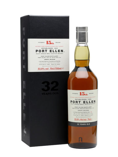 Slika Port Ellen 32 Years Old 15th Release 53,9% Vol. 0,7l in Giftbox