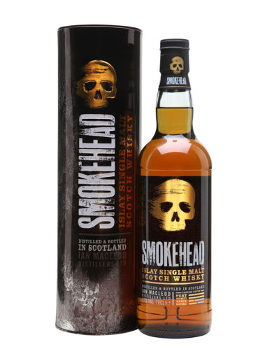 Slika Smokehead Islay Single Malt Scotch Whisky 43% Vol. 0,7l in Tinbox