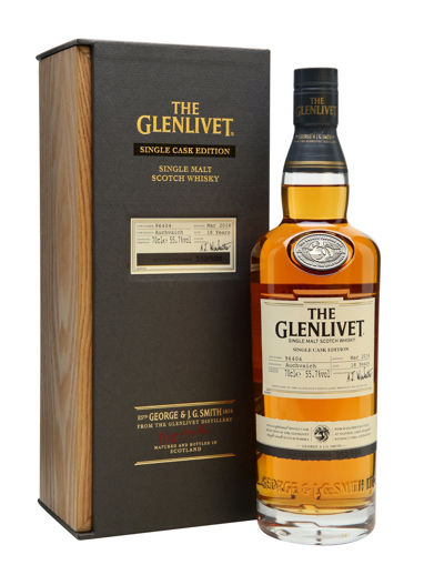 Slika The Glenlivet 18 Years Old SINGLE CASK EDITION Auchvaich 2016 55,7% Vol. 0,7l in Wooden case