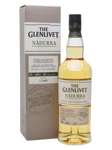 Slika The Glenlivet NÀDURRA Dram Chair First Fill Selection 48% Vol. 1l in Giftbox