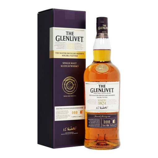 Slika The Glenlivet The Master Distiller's Reserve Solera Vatted 40% Vol. 1l in Giftbox