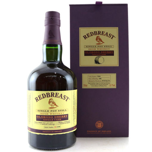 Slika Redbreast OLOROSO SHERRY Single Cask Single Pot Still Irish Whiskey 1998 55,7% Vol. 0,7l in Giftbox