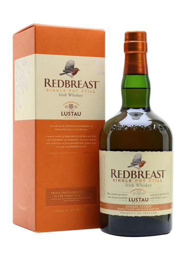 Slika Redbreast Single Pot Still Irish Whiskey LUSTAU EDITION Sherry Finish 46% Vol. 0,7l in Giftbox