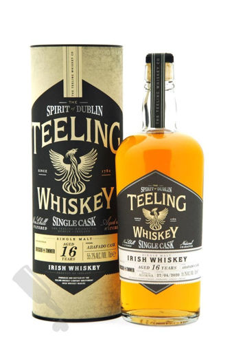 Slika Teeling Whiskey 16 Years Old VINTAGE RESERVE COLLECTION Abafado Cask Finish 55,2% Vol. 0,7l in Giftbox