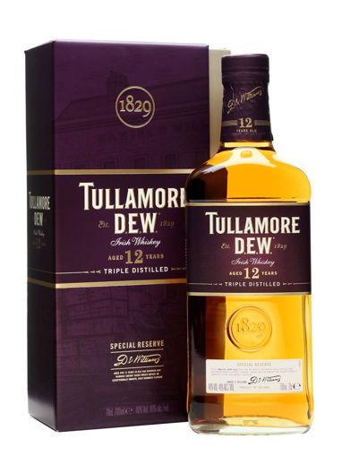 Slika Tullamore D.E.W. 12 Years Old Irish Whiskey Special Reserve 40% Vol. 0,7l in Giftbox