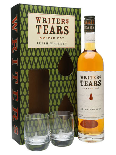 Slika Writer's Tears COPPER POT Irish Whiskey 40% Vol. 0,7l in Giftbox with 2 glasses