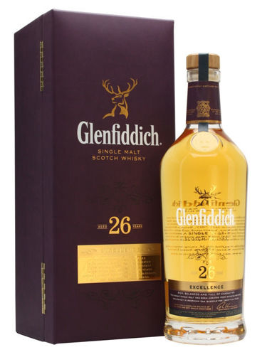 Slika Glenfiddich 26 Years Old EXCELLENCE Single Malt Scotch Whisky 43% Vol. 0,7l in Giftbox