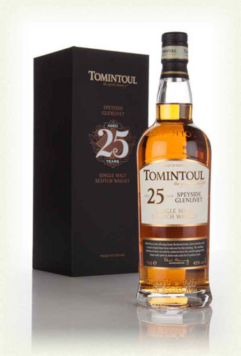 Slika Tomintoul 25 Years Old Single Malt Scotch Whisky 43% Vol. 0,7l in Giftbox
