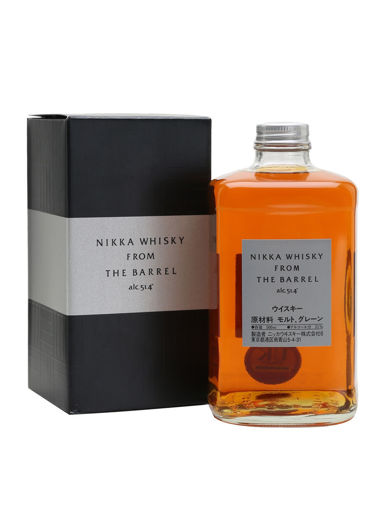 Slika Nikka From the Barrel Double Matured Blended Whisky 51,4% Vol. 0,5l in Giftbox